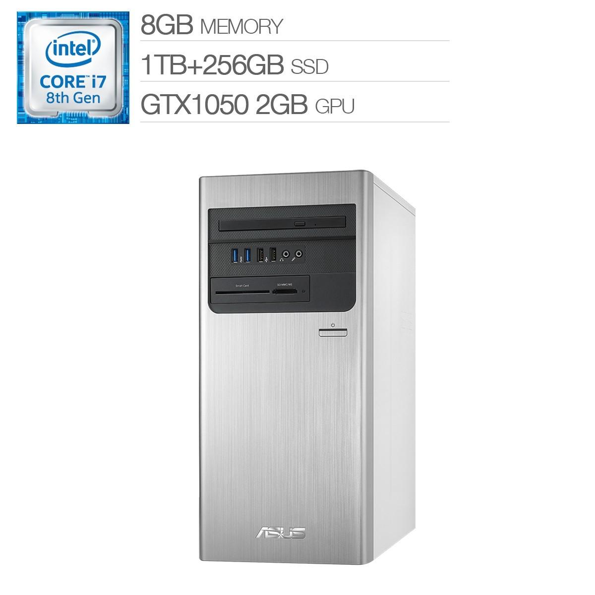 ASUS i7 六核獨顯無線主機 H-S640MB-I78700053T