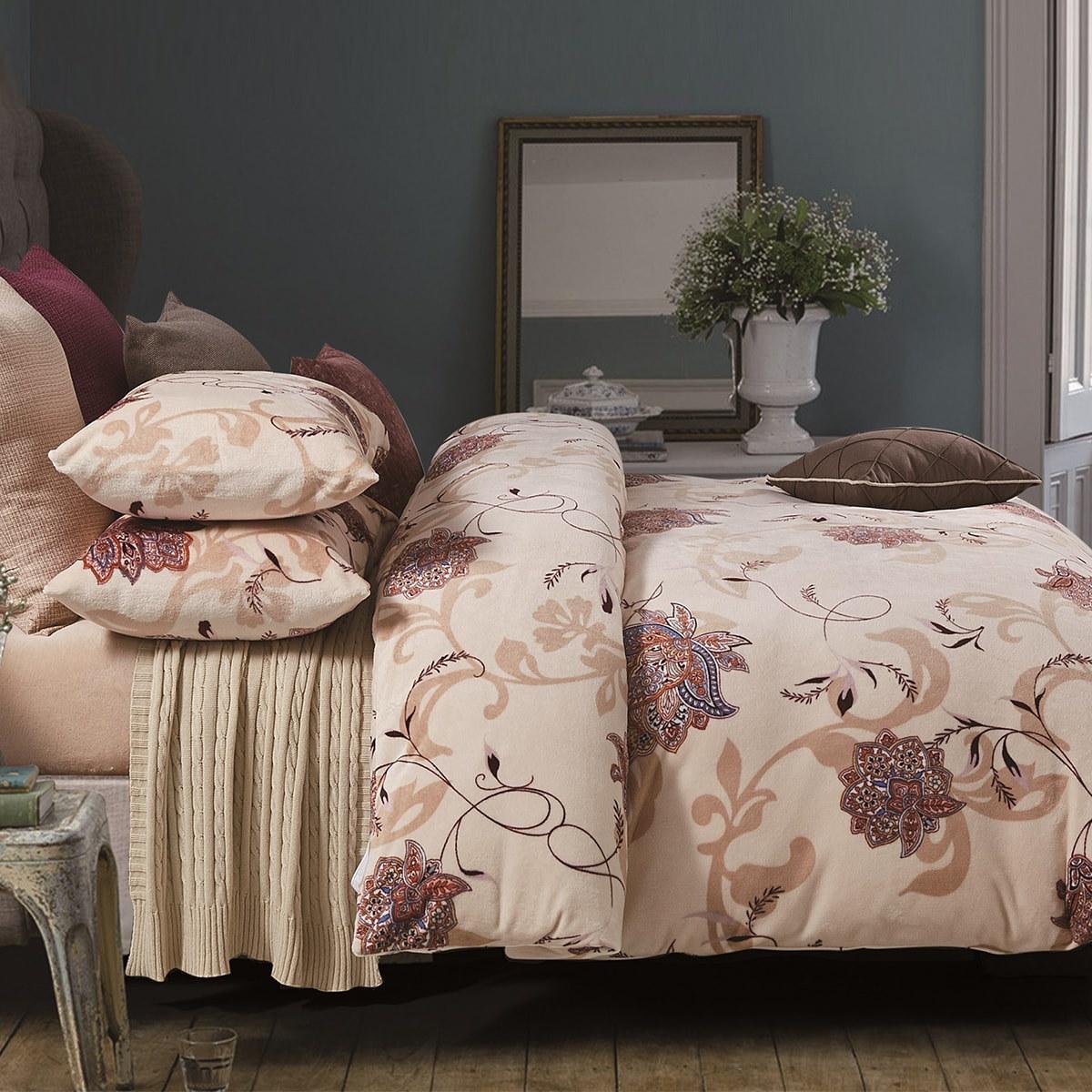Softitex法蘭絨刷毛床組4件組