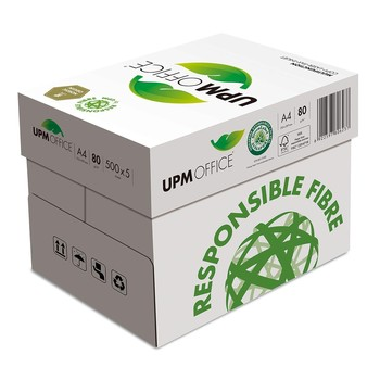 UPM OFFICE 80G A4 影印紙 500張x5包