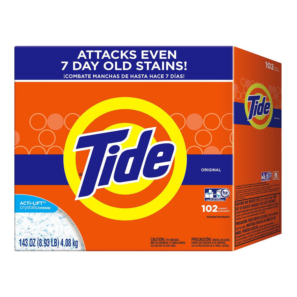 Tide 汰漬 濃縮強效洗衣粉