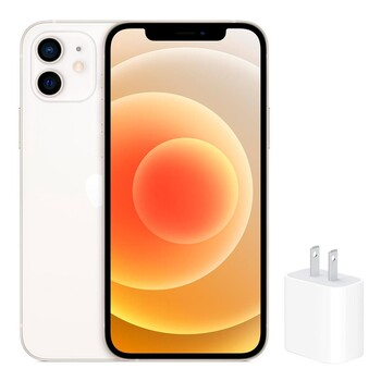 iPhone 12 64GB 搭配 Apple 20W USB-C 電源轉接器