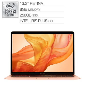 MacBook Air 13吋 i3雙核心 8GB 256GB 金