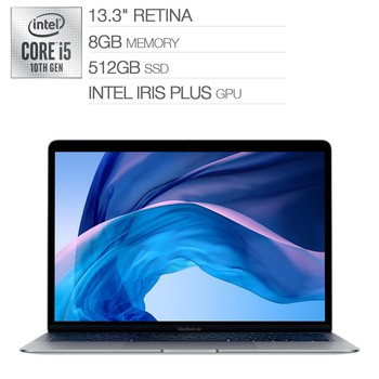 MacBook Air 13吋 i5四核心 8GB 512GB 灰