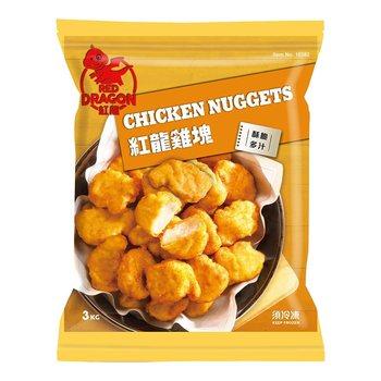 好市多 紅龍冷凍雞塊 3公斤