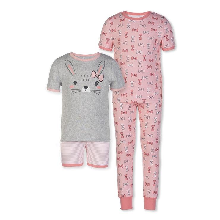 Kirkland Signature Kids  4-Piece Pajama Set. 商品編號  1266134. Kirkland  Signature 科克蘭兒童有機棉睡衣4件組 e2fefd177