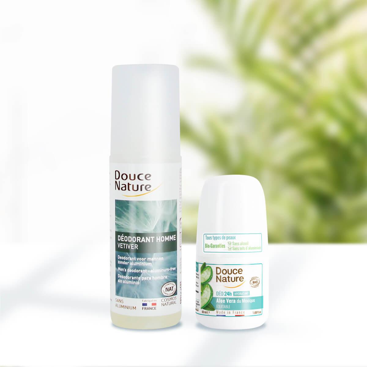 法國Douce Nature地恩全方位個人保養用品,採自有機公平貿易原料。Douce Nature針對不同的膚質及使用習慣,設計了護膚、護髮、體香劑等保養用品。