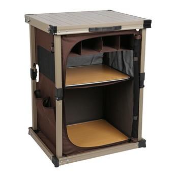 Timber Ridge 鋁合金戶外收納櫃 Timber Ridge Portable Camp Pantry-Costco