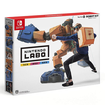 任天堂 Labo Toy-Con02 ROBOT KIT 普遍級 益智遊戲