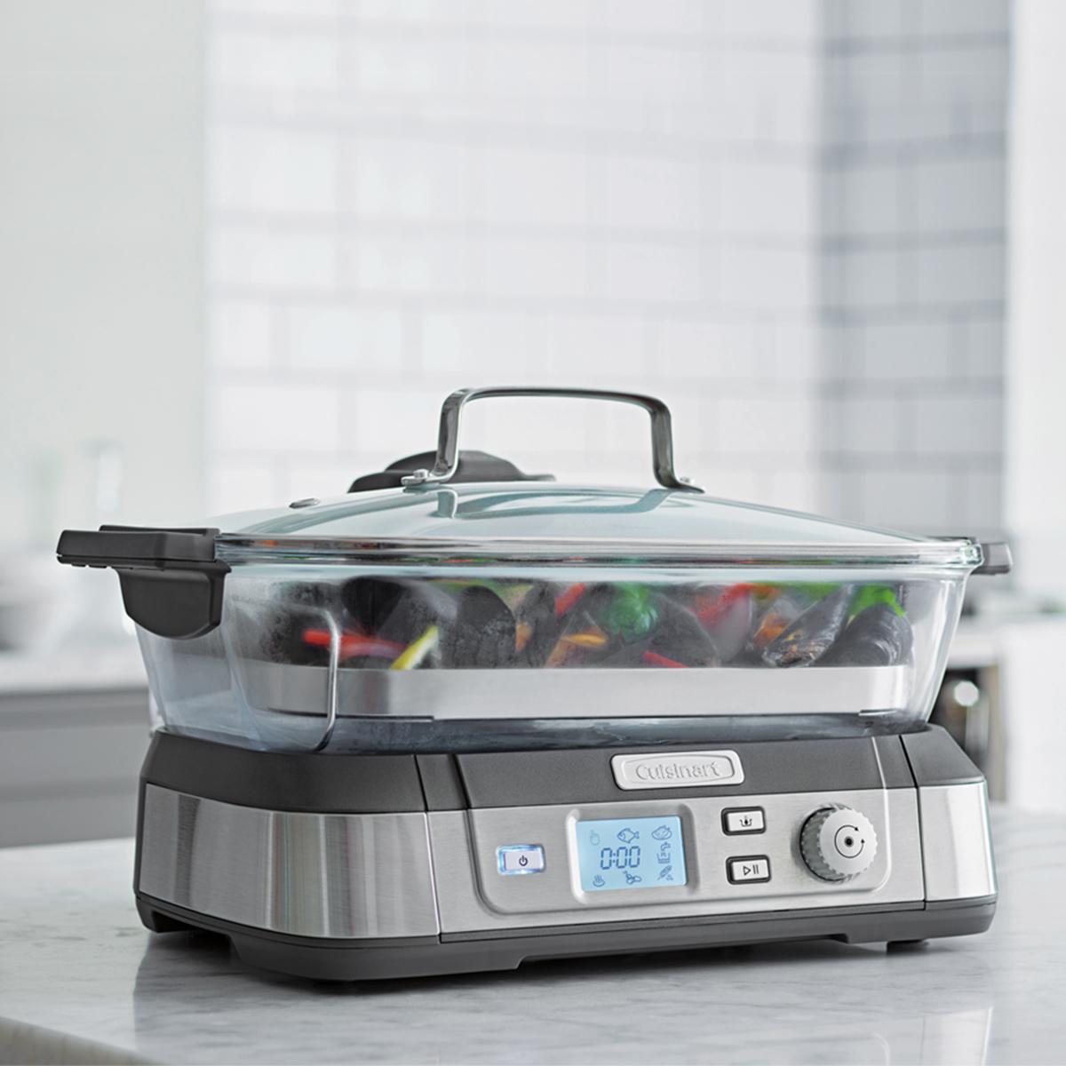 Cuisinart 美膳雅玻璃蒸鮮鍋 (STM-1000TW)