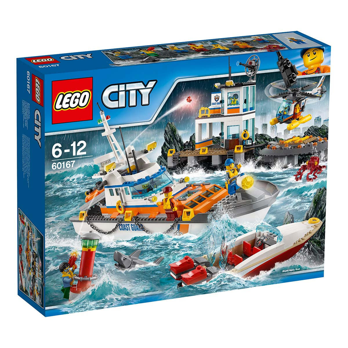 LEGO 城市系列 海巡防總部
