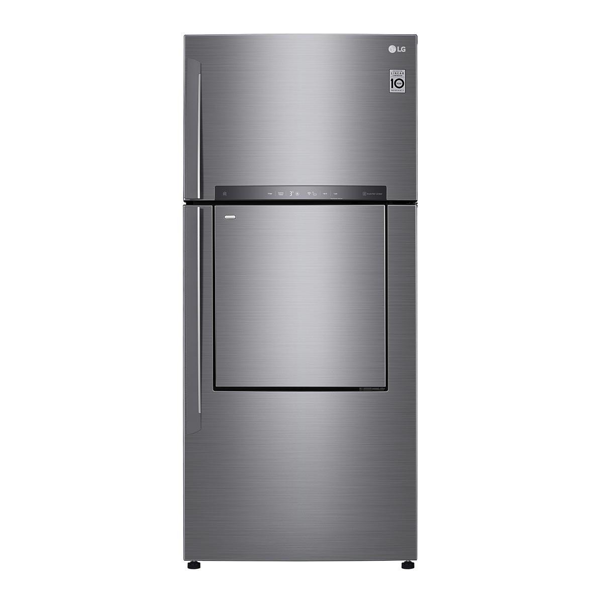 LG 525公升上下門中門冰箱