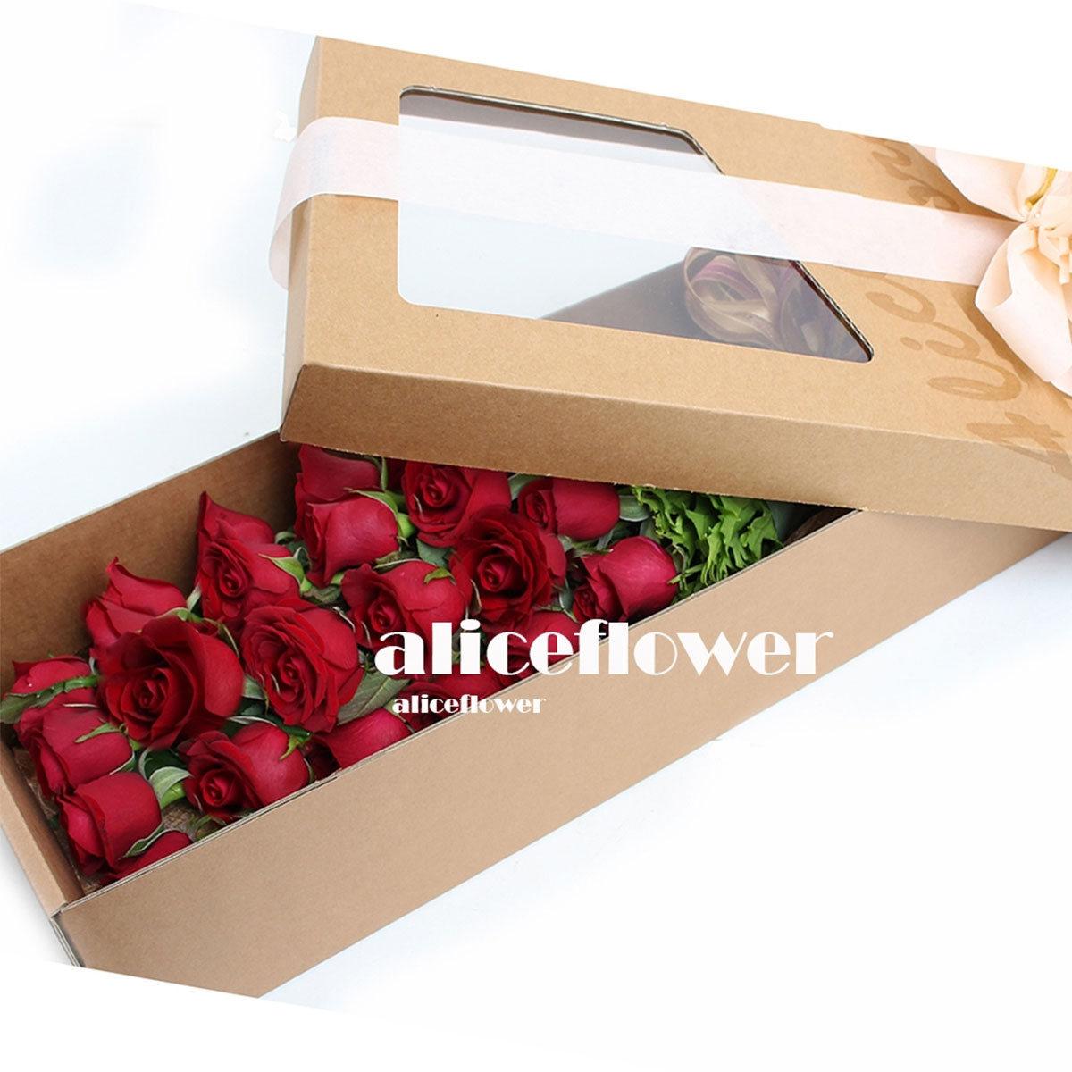 台北愛麗絲花坊歌聲魅影盒裝花