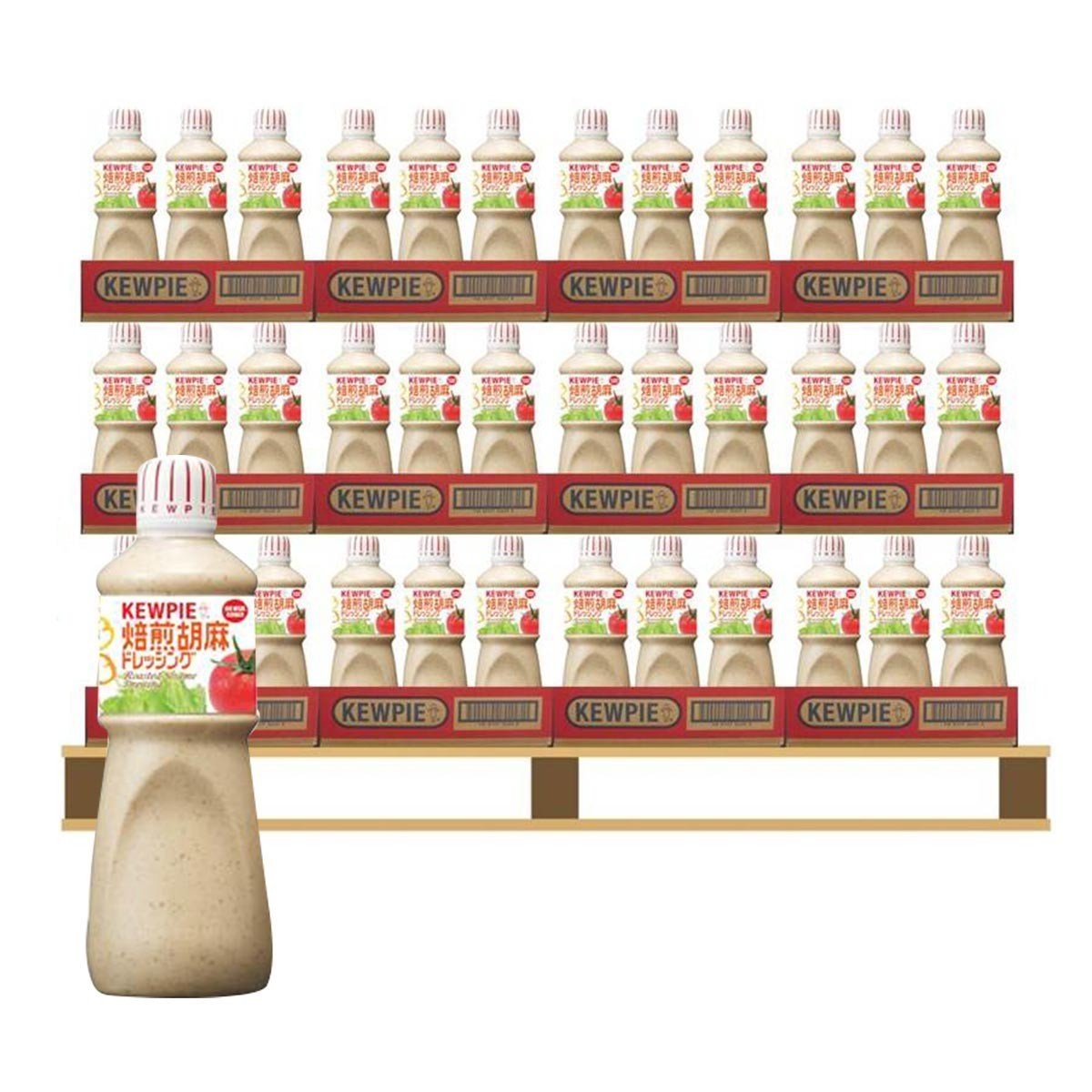 Kewpie 胡麻醬 1公升 X 324入