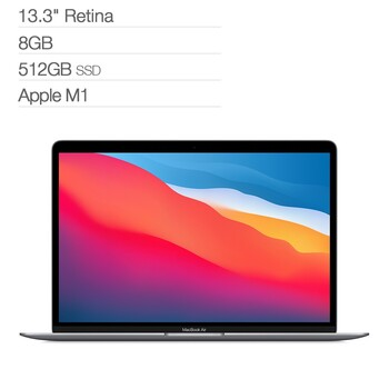 MacBook Air 13吋 M1晶片八核心 8GB 512GB