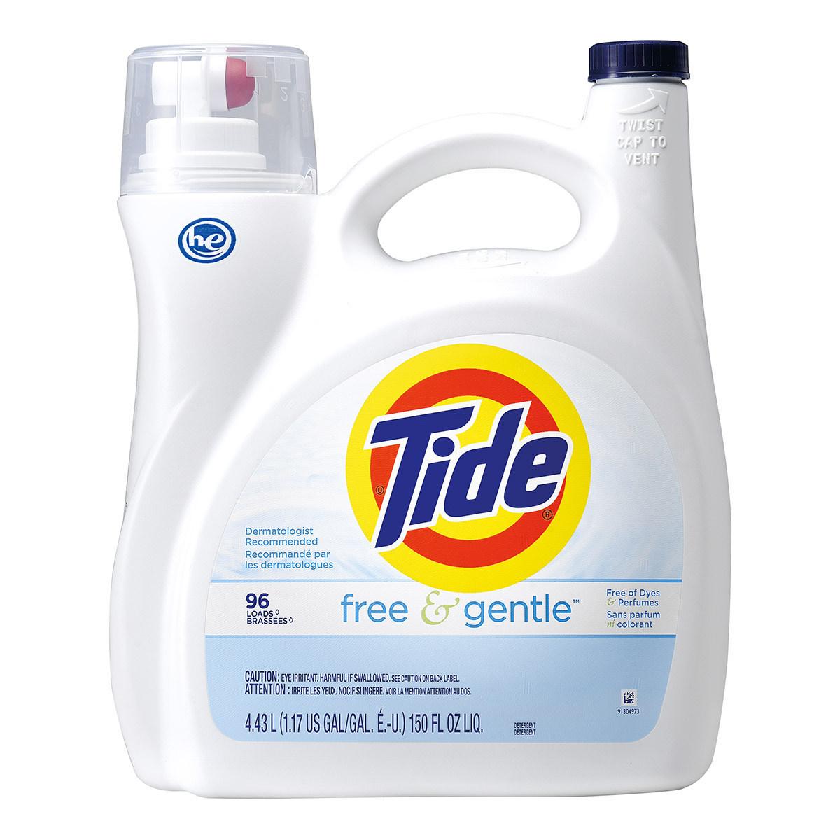 Tide 汰漬無色香洗衣精