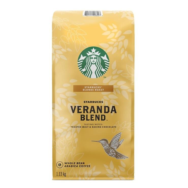 Starbucks Veranda Blend 黃金烘焙綜合咖啡豆 1.13公斤 Starbucks Veranda Blend Whole Bean Coffee 1.13kg-Costco