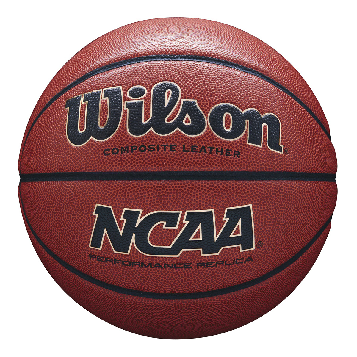Wilson NCAA 室內外合成皮籃球 (7號)
