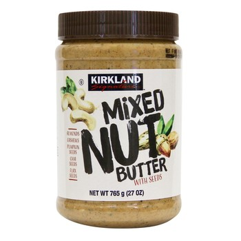 Kirkland Signature 科克蘭綜合堅果抹醬 765公克 Kirkland Signature Mixed Nut Butter 765G-Costco