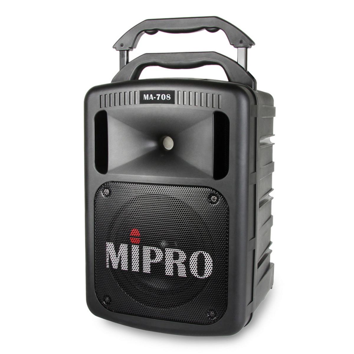 MIPRO 豪華型手提式無線擴音機 MA-708 全配超值組