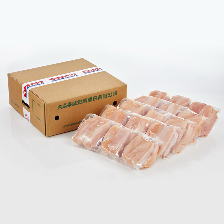 大成 冷凍雞清胸肉 2.7公斤 X 5包 | Costco 好市多線上購物
