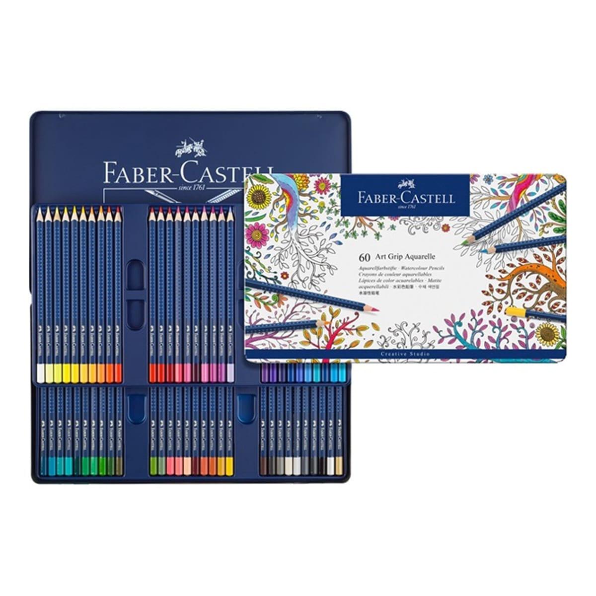 Faber-Castell 輝柏創意工坊水彩色鉛筆60入