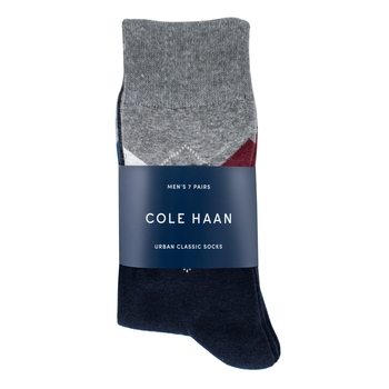 Cole Haan 男襪七入組