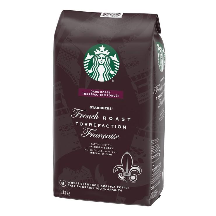 Starbucks 法式烘焙咖啡豆 1.13公斤 Starbucks French Roast Coffee Bean 1.13Kg-Costco