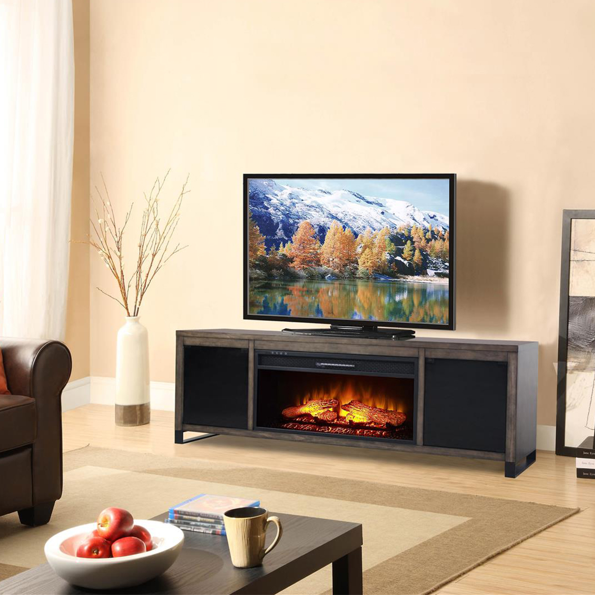 Bayside 電暖爐電視櫃