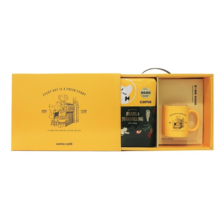 Cama 曼巴咖啡豆馬克杯禮盒組 Cama Coffee Gift Pack-Costco