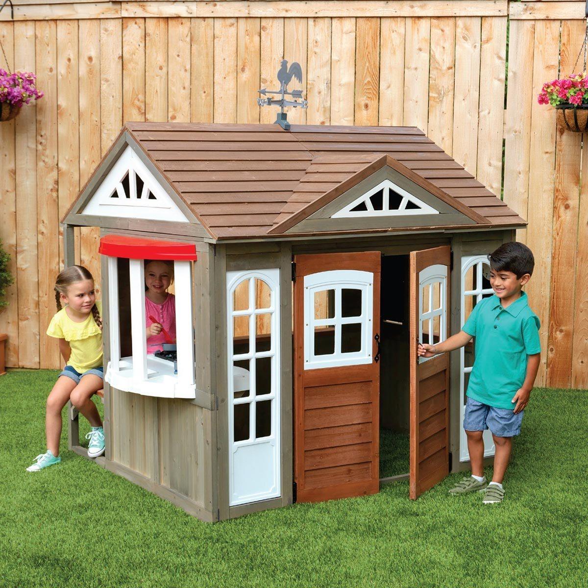 Cedar Summit 鄉村風戶外木製遊戲屋