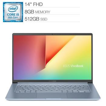 ASUS 14 窄邊框筆電 S403FA-0162S8265U ASUS 14 VivoBook S403FA-0162S8265U-Costco