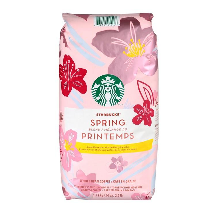 Starbucks 春季限定咖啡豆 1.13公斤 Starbucks Spring Blend Coffee Blend 1.13Kg-Costco