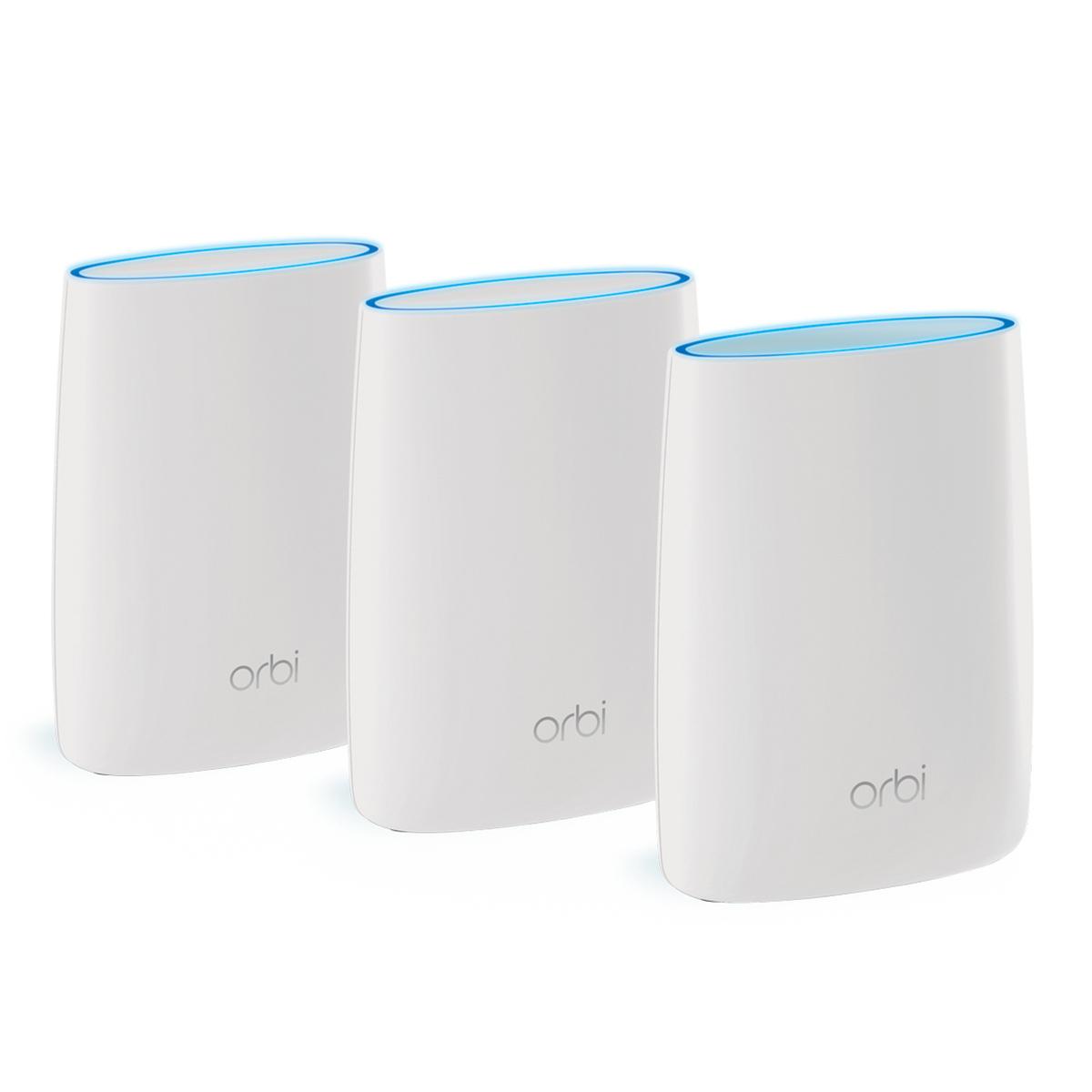 Netgear Orbi 高效能AC3000三頻WiFi延伸系統組合 (RBK53)