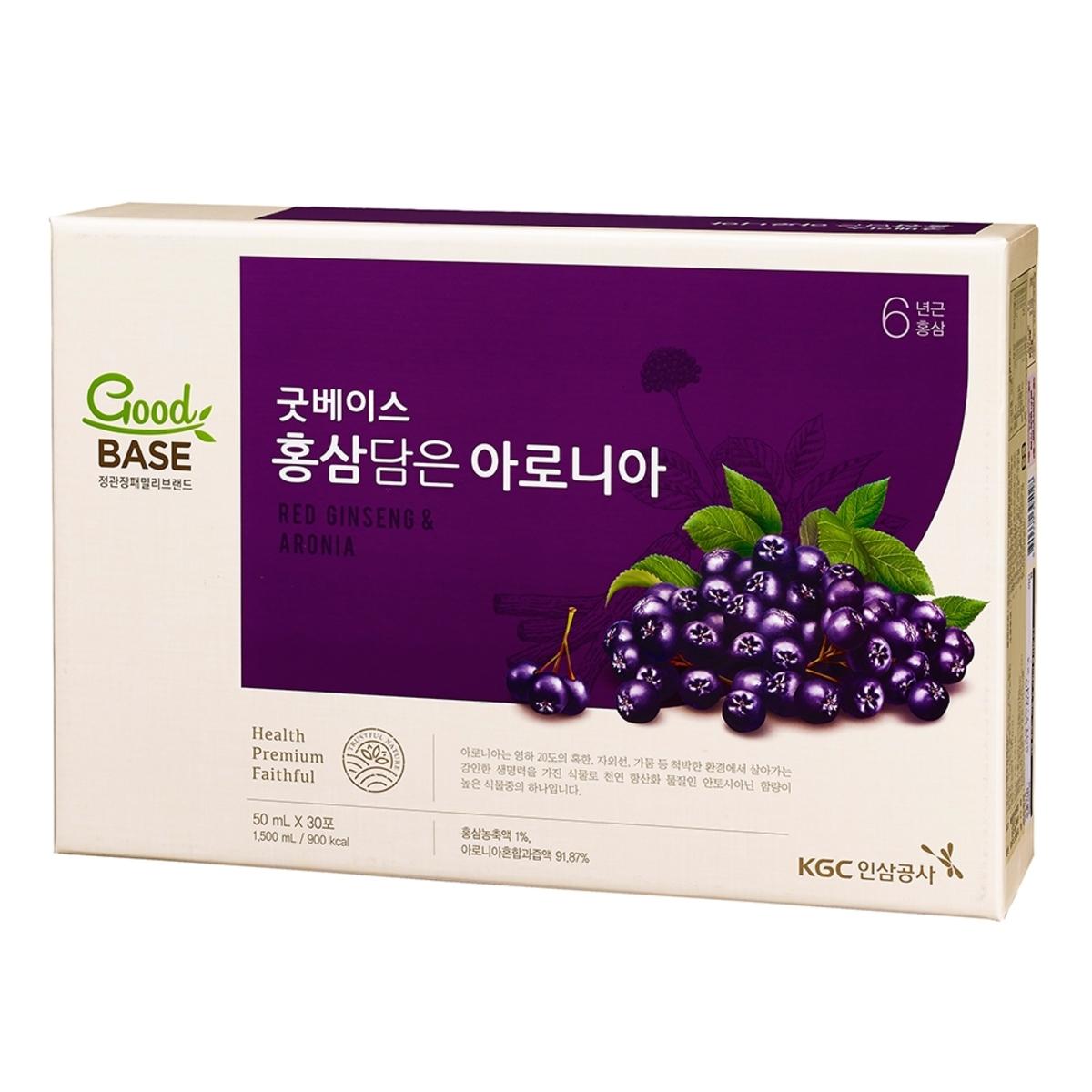 正官庄高麗蔘野櫻莓飲 50毫升 X 30包