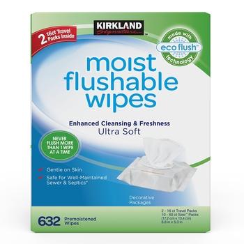 KirklandSignature科克蘭濕式衛生紙