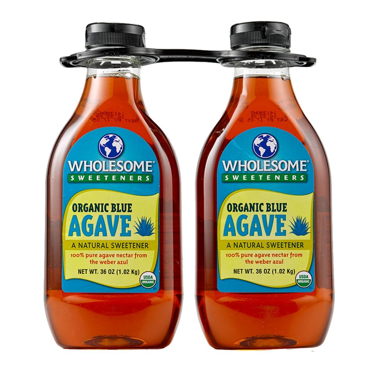 Wholesome Sweeteners 有機龍舌蘭糖漿 1.02公斤 X 2入/組