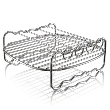 飛利浦健康氣炸鍋專用雙層串燒架 (HD9904) (適用於HD9220) Philips Airfryer Accessory- Double Layer Rack with Skewers for ..