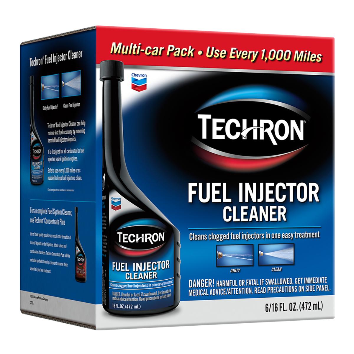 Techron 噴油嘴清潔劑 16oz X 6瓶