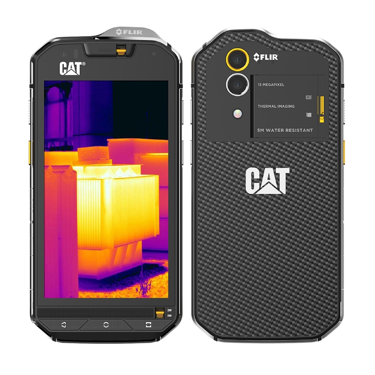 """CAT4.7""""熱感應相機手機S60"""