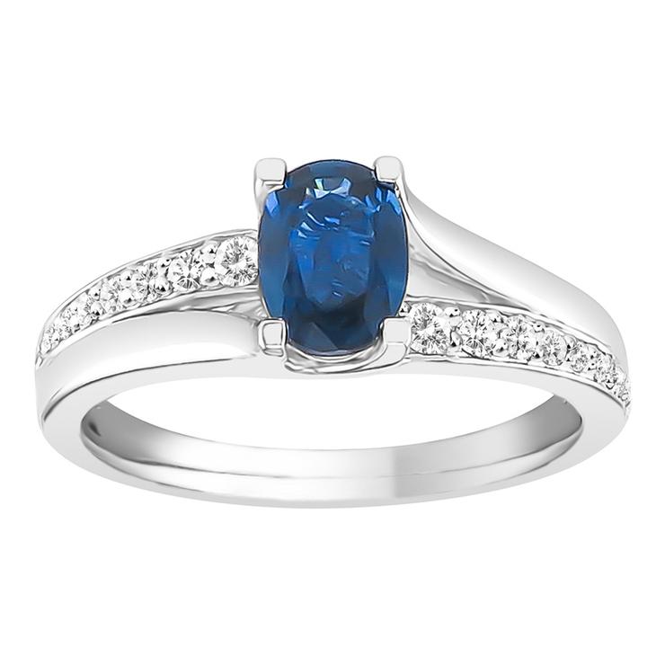 Costco White Sapphire Ring