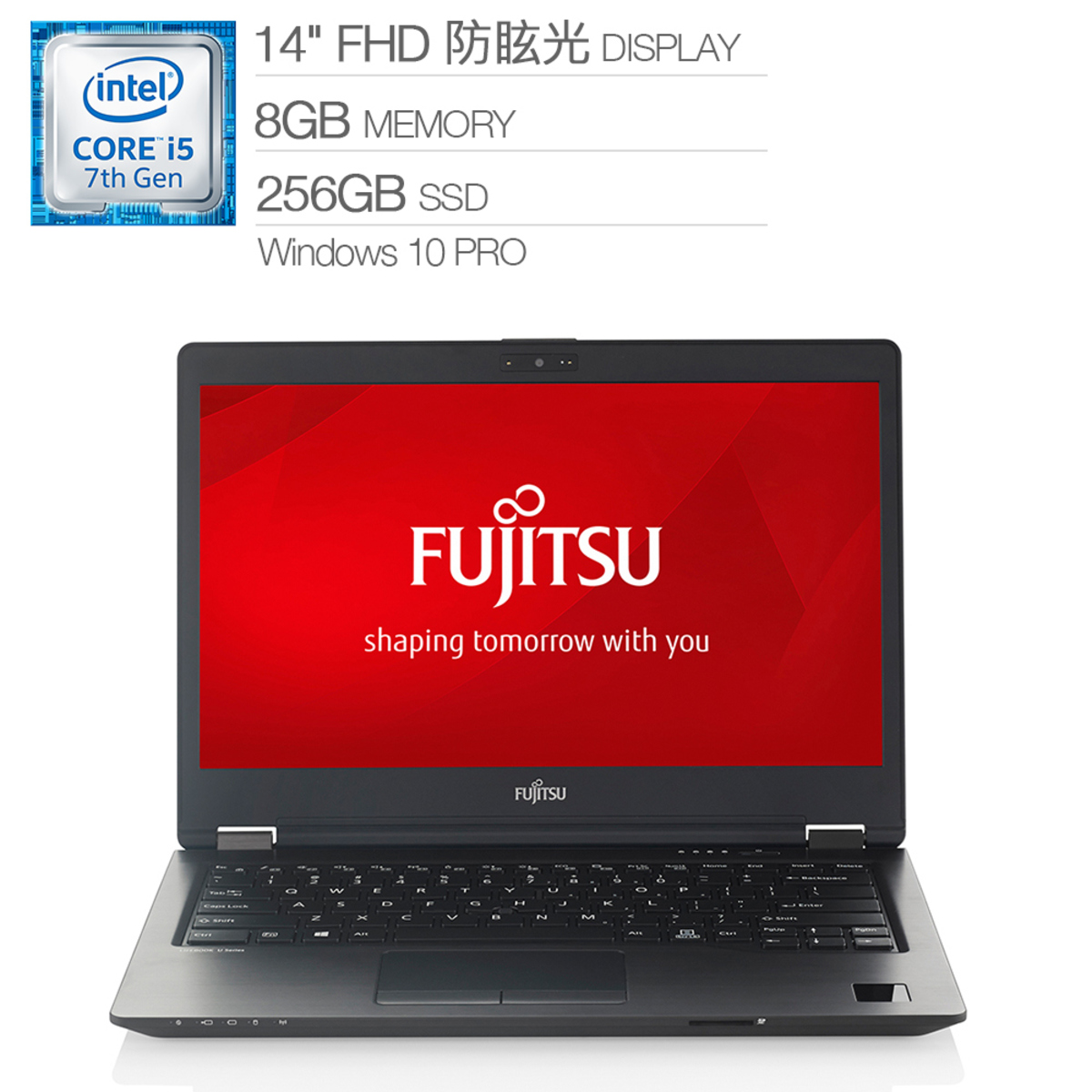 "Fujitsu 14"" 日製筆電 U747-PB525C"