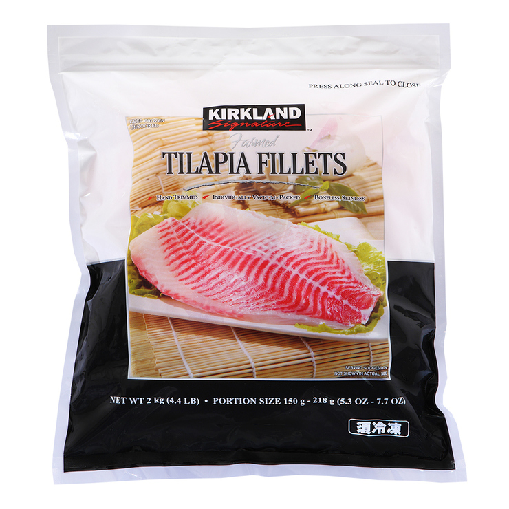 Kirkland Signature 科克蘭 冷凍鯛魚片 2公斤 | Costco 好市多線上購物