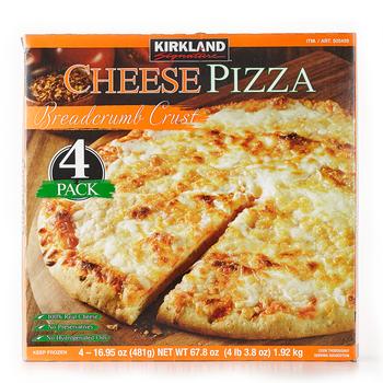 KirklandSignature科克蘭冷凍起司比薩