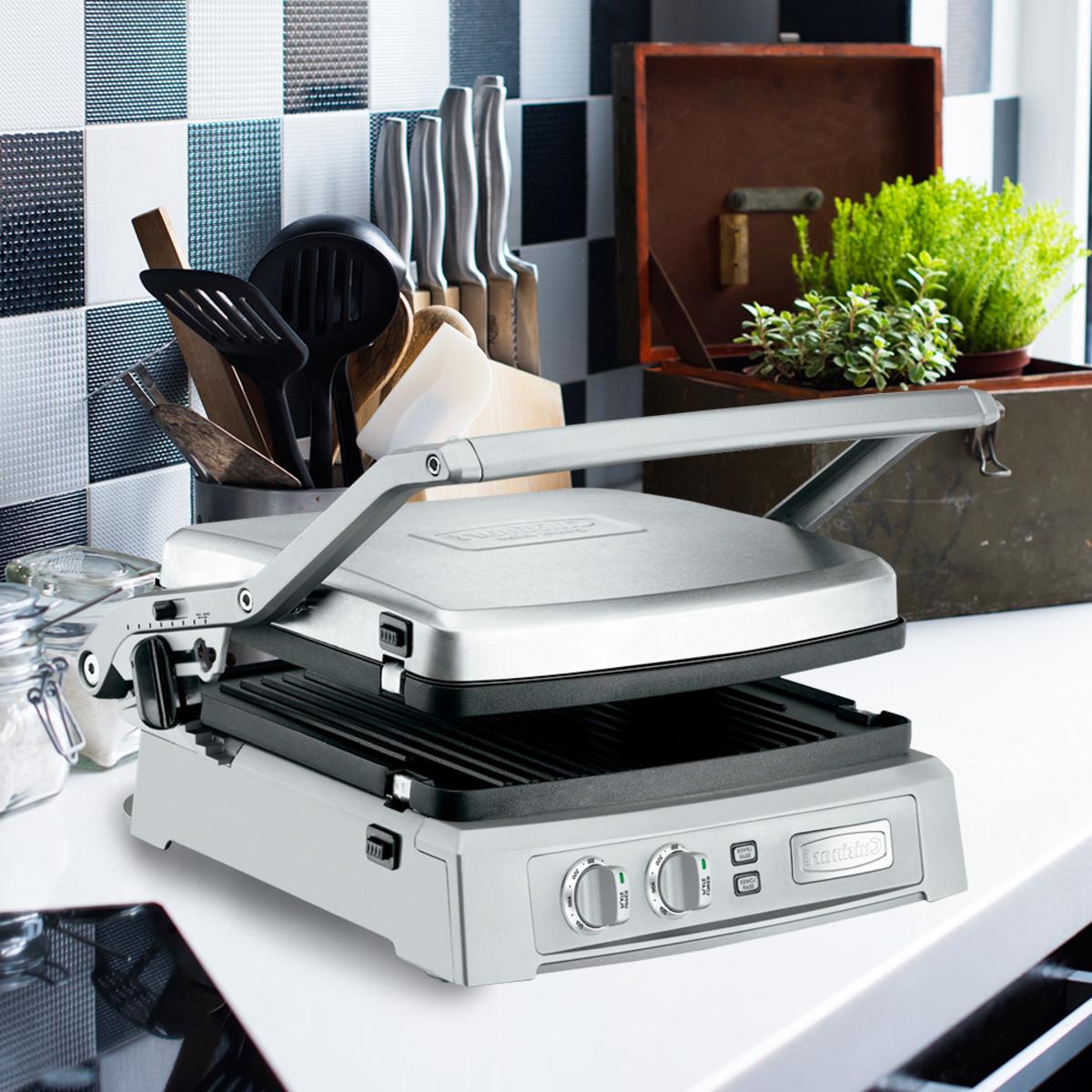 美膳雅帕里尼三明治機 + 烤盤 (GR-150TW)