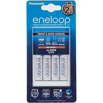 eneloop 兩小時快速充電器組+三號電池4入 eneloop Recharge Combo Pack-Costco