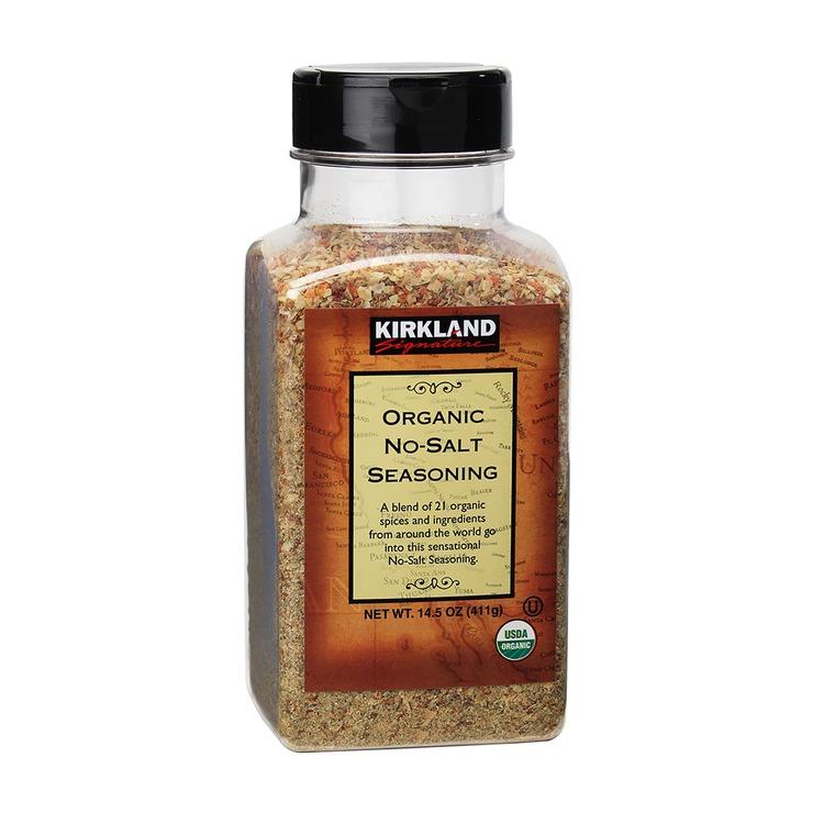 Kirkland Signature 科克蘭 有機無添加鹽調味香料 - 綜合21種香料 411公克 | Costco 好市多線上購物
