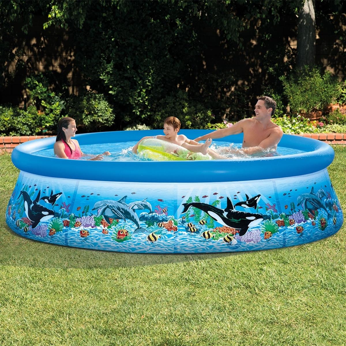 Intex 10呎海洋造型簡易型泳池
