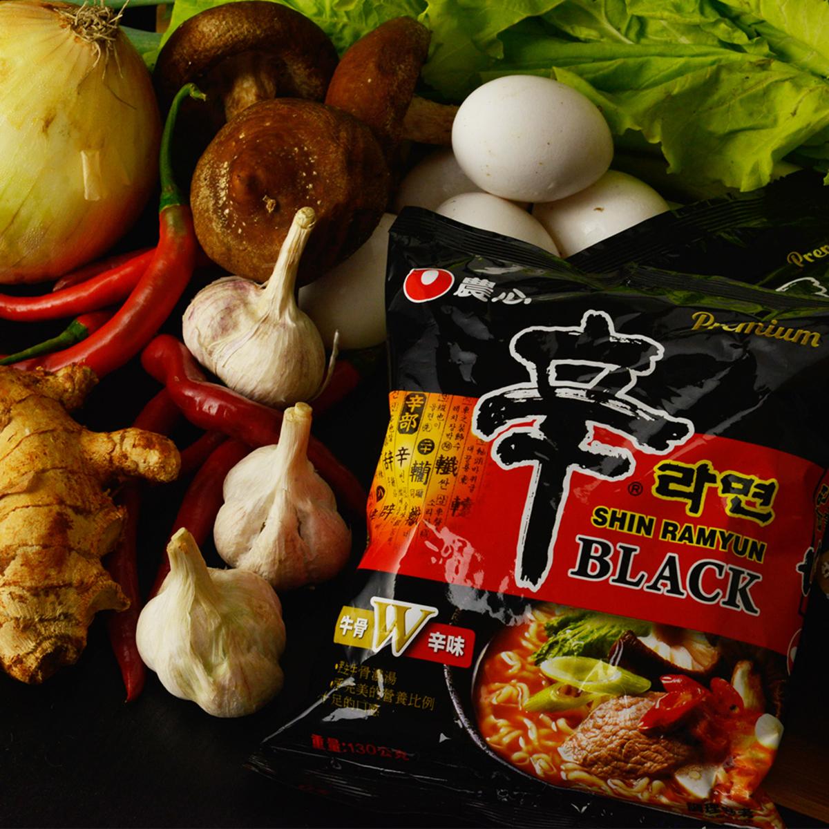 農心 拉麵組合 部隊鍋麵+頂級辛拉麵
