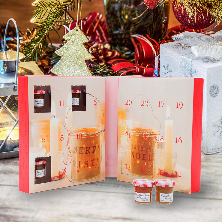 BONNEMAMAN聖誕節驚喜盒30公克X24入