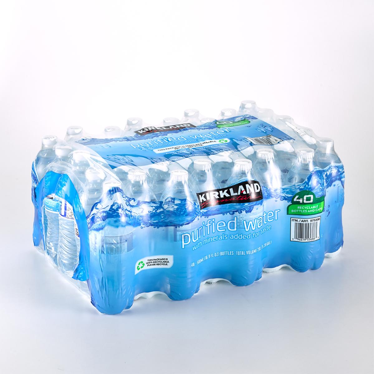 Kirkland Signature 科克蘭 飲用水 500毫升 X 40瓶